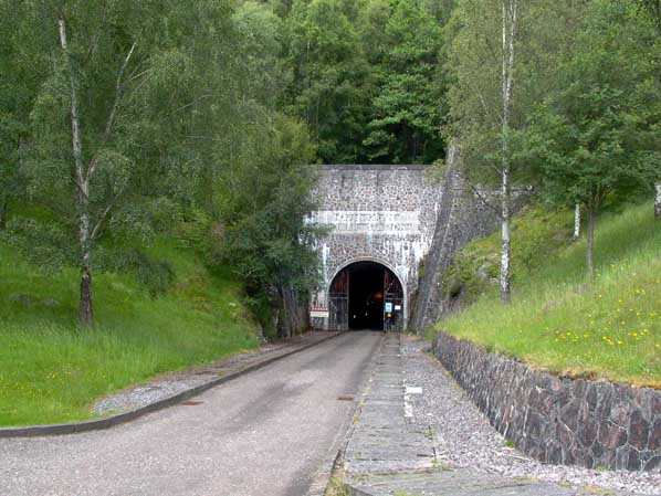 Culligran Access Tunnel portal