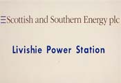 Livishie Power Station sign