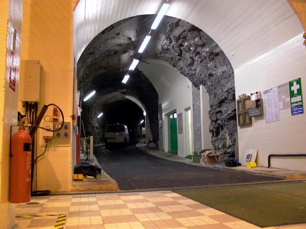 Livishie power station - access tunnel